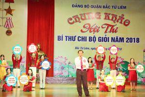 Bí thư 70 tuổi giành giải Nhất Bí thư chi bộ giỏi quận Bắc Từ Liêm
