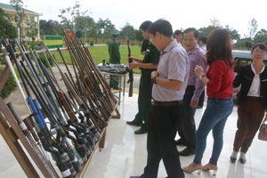 Đắk Lắk: Thu hồi vũ khí, vật liệu nổ sử dụng trái phép