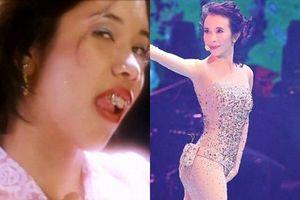 'Xấu nữ' phim Châu Tinh Trì khoe vẻ gợi cảm tuổi U50 trên sân khấu