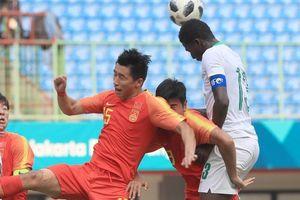 Đầu tư triệu USD, bóng đá trẻ Trung Quốc vẫn thua Việt Nam ở ASIAD