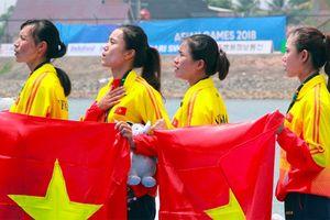 Tự hào các cô gái Vàng Rowing