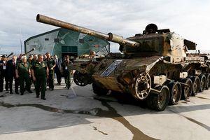 Quân đội Nga khoe dàn chiến lợi phẩm 'khủng' có được từ Syria