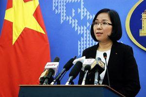 Đài Loan diễn tập bắn đạn thật ở Ba Bình là hành động xâm phạm chủ quyền của Việt Nam