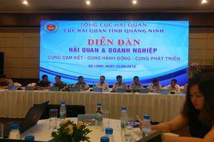 Hải quan Quảng Ninh: Cam kết cùng hành động, cùng phát triển với DN