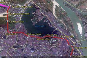Hà Nội: Có nên xây dựng nhà ga C9 qua hồ Hoàn Kiếm?