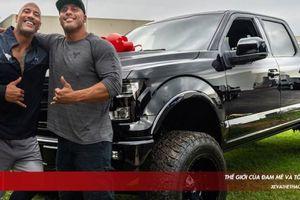 The Rock tặng bạn diễn chuyên đóng thế siêu bán tải Ford F-150