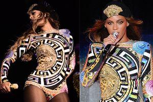 Khi Beyoncé chơi trội cùng dàn vũ công 'phủ vàng' trong trang phục Versace