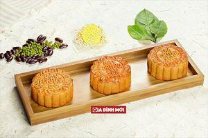 Công thức bánh trung thu nướng nhân đậu đỏ thơm mềm lên màu chuẩn đẹp