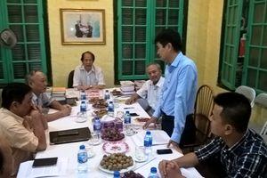 Ban kiểm tra Hội Nhà báo Việt Nam làm việc với Chi hội Tạp chí Văn hiến Việt Nam