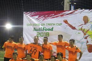 Giải bóng đá tranh cúp NutiFood 2018 chính thức khởi tranh