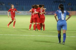 Đội tuyển nữ Việt Nam - Đài Bắc Trung Hoa: Tìm vé bán kết