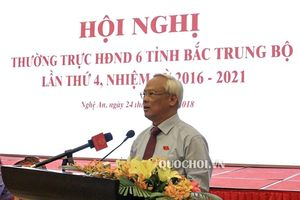 Hội nghị Thường trực Hội đồng nhân dân khu vực Bắc trung bộ lần thứ 4