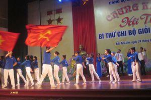 Quận ủy Bắc Từ Liêm tổ chức thành công Hội thi 'Bí thư chi bộ giỏi năm 2018'
