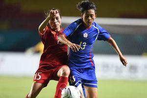 Bóng đá nữ ASIAD 2018: Việt Nam lỡ hẹn, Hàn Quốc thẳng tiến bán kết
