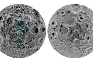 NASA xác nhận hiện tượng nước đóng băng trên bề mặt của Mặt Trăng