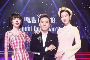 Trấn Thành ấn tượng với biểu hiện của thí sinh Hoa hậu VN
