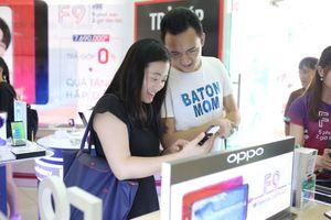 Oppo F9 nhận 48.000 đơn hàng sau 10 ngày mở bán
