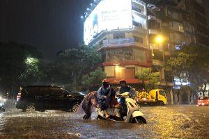 Dự báo thời tiết ngày 25.8: Hà Nội tiếp tục mưa lớn vào chiều tối và đêm