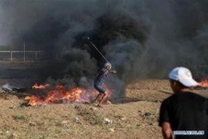Hơn 180 người Palestine bị thương trong cuộc đụng độ với binh sĩ Israel