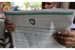 WhatsApp từ chối theo dõi tin nhắn ở Ấn Độ