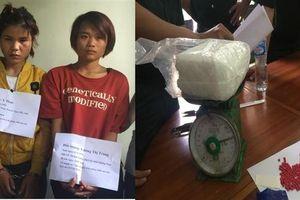 Hai thiếu nữ 'xách tay' 1 kg và gần 400 viên ma túy qua cửa khẩu Bờ Y