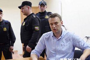 Thủ lĩnh đối lập Nga Alexei Navalny bị bắt giữ ở thủ đô Moskva