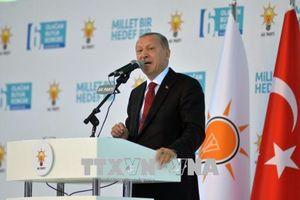 Tổng thống Thổ Nhĩ Kỳ nhấn mạnh vai trò của người dân trong việc chống lại tấn công kinh tế