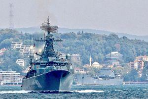 3 tàu Hải quân Nga lần đầu cùng cập cảng Tartous của Syria