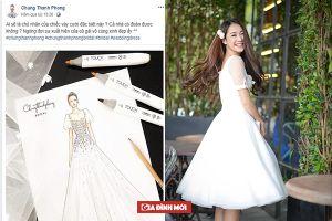 Ngắm hình ảnh chiếc váy cưới đẹp lung linh Nhã Phương sẽ mặc trong ngày trọng đại