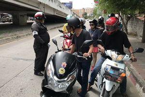 Thái Lan tăng mức phạt đối với lái xe không có giấy phép