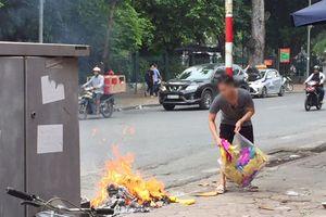 Bỏ hủ tục đốt vàng mã: Văn minh, tiết kiệm, bảo vệ môi trường