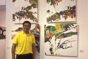 Họa sỹ châu Á vẽ tranh ca ngợi cố đô Hoa Lư