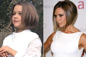 Công chúa nhà David Beckham gây bất ngờ với mái tóc ngắn