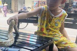 Lạ: Chủ quán cho trăn, kỳ đà 'ngồi' uống cà phê chung với... khách