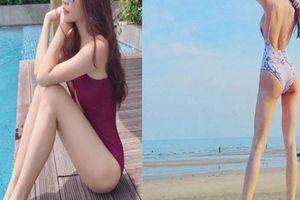 Tình cũ và tình mới của Cường Đô la đọ dáng với áo tắm
