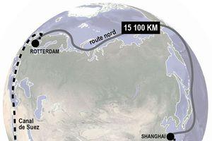 Tàu container chuyên dụng của Đan Mạch sắp khai thông Tuyến đường biển Bắc
