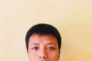Đại úy Đào Văn Quang trả lại của rơi cho người đánh mất