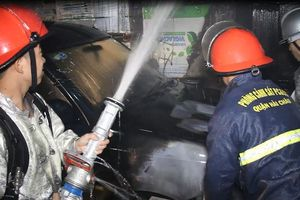 Kịp thời dập tắt đám cháy trong Bệnh viện Đà Nẵng