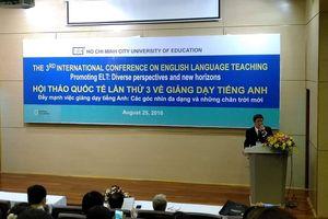 Giảng dạy tiếng Anh dưới góc nhìn mới