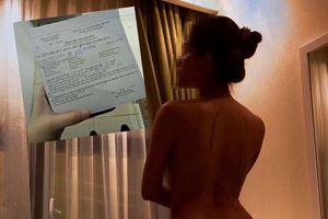 Không khởi tố vụ người mẫu ảnh nude tố bị họa sĩ hiếp dâm