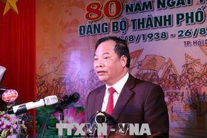 Kỷ niệm 80 năm ngày thành lập Đảng bộ thành phố Hải Dương