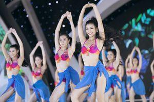 Phần thi bikini nóng bỏng của Hoa hậu Việt Nam