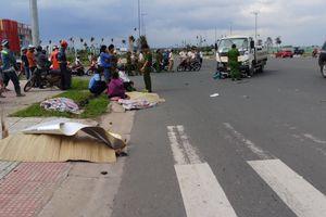 TP HCM: Xe tải va chạm xe máy văng hàng chục mét, 2 người tử vong tại chỗ