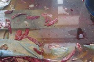 TPHCM: Xác ruồi, gián trong bể sản xuất ớt muối