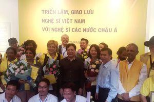 Triển lãm giao lưu giữa nghệ sỹ Việt Nam với nghệ sỹ các nước châu Á