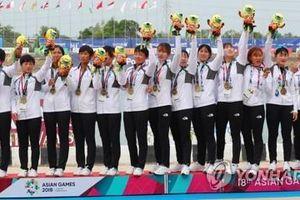 Đoàn thể thao Liên Triều giành huy chương lịch sử ở ASIAD 18