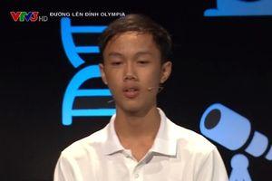 Tiếp bước 'cậu bé Google', nam sinh trường THPT Thị xã Quảng Trị vào chung kết Đường lên đỉnh Olympia 2018