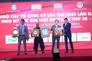 Nhiều kỷ lục mới được xác lập tại đêm Hội ngộ các tổ chức Kỷ lục Thế giới
