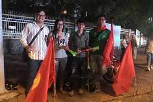 Cuồng nhiệt không khí trận Việt Nam-Syria