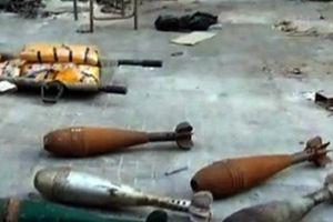 Quân đội Syria 'bóc tem' vũ khí khủng thu được từ phiến quân